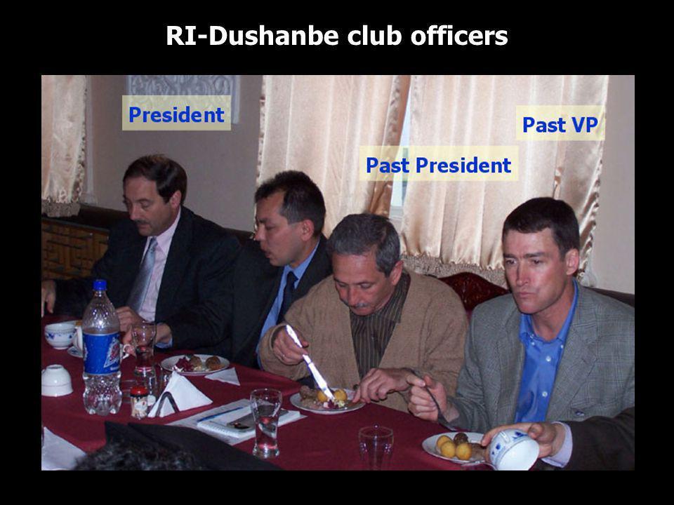 RI-Dushanbe club officers