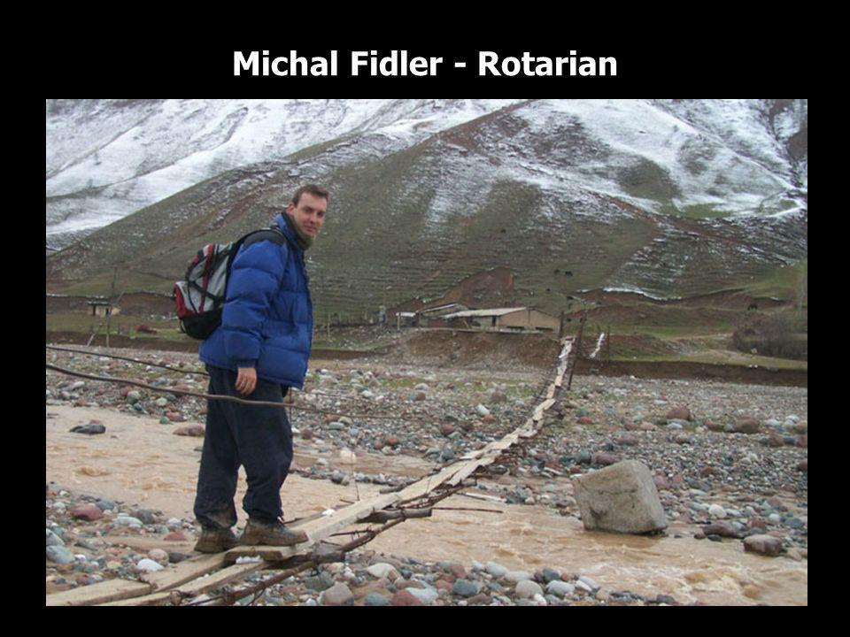 Michal Fidler - Rotarian