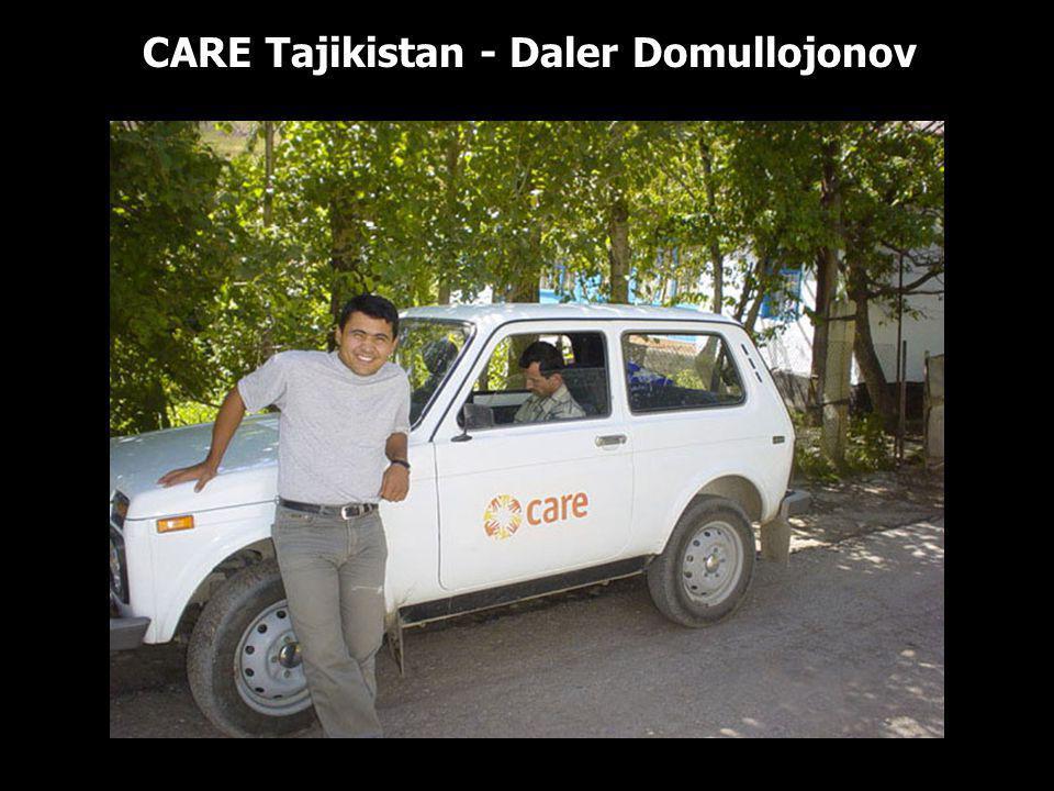 CARE Tajikistan - Daler Domullojonov