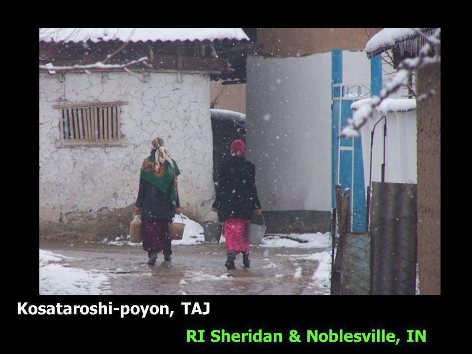 Kosataroshi-poyon, TAJ RI Sheridan & Noblesville, IN