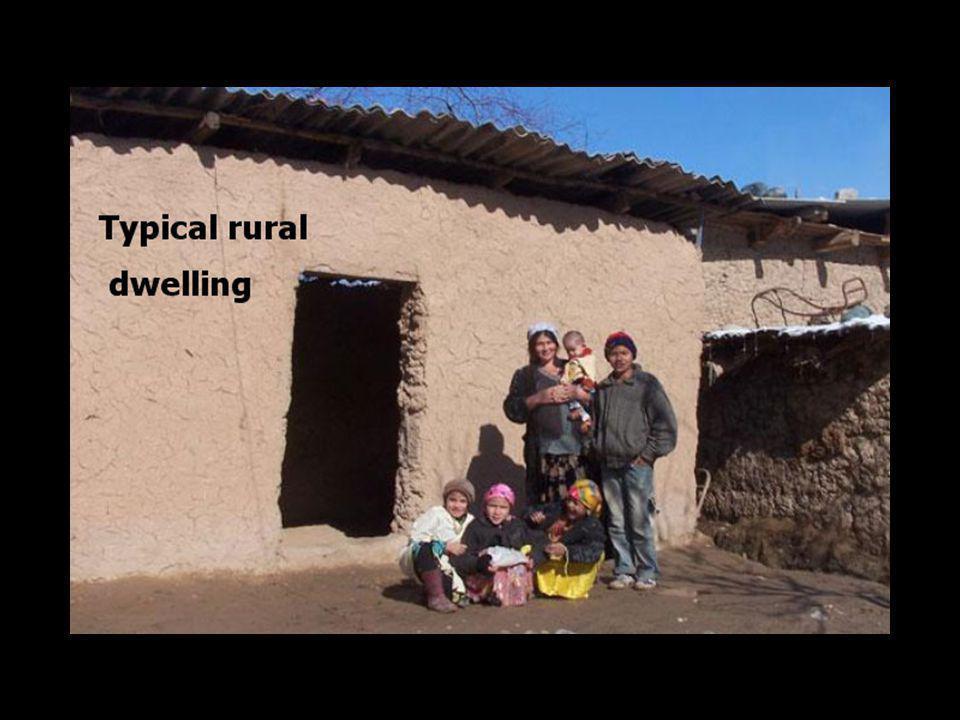 Typical rural dwelling Typical rural dwelling