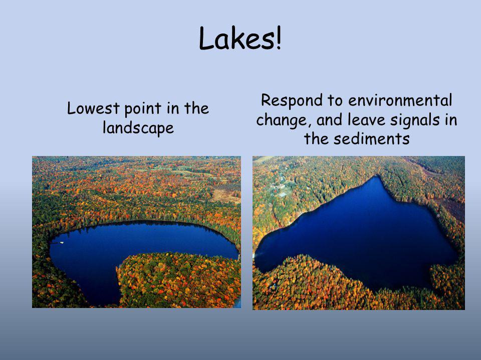 Lakes.