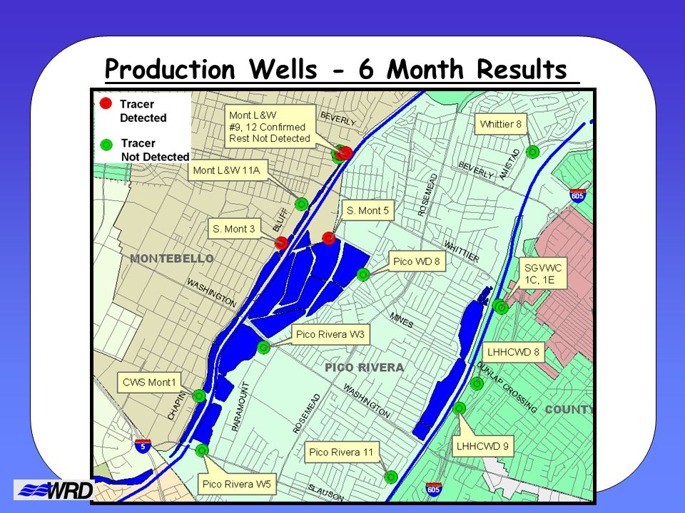 Production Wells - 6 Month Results