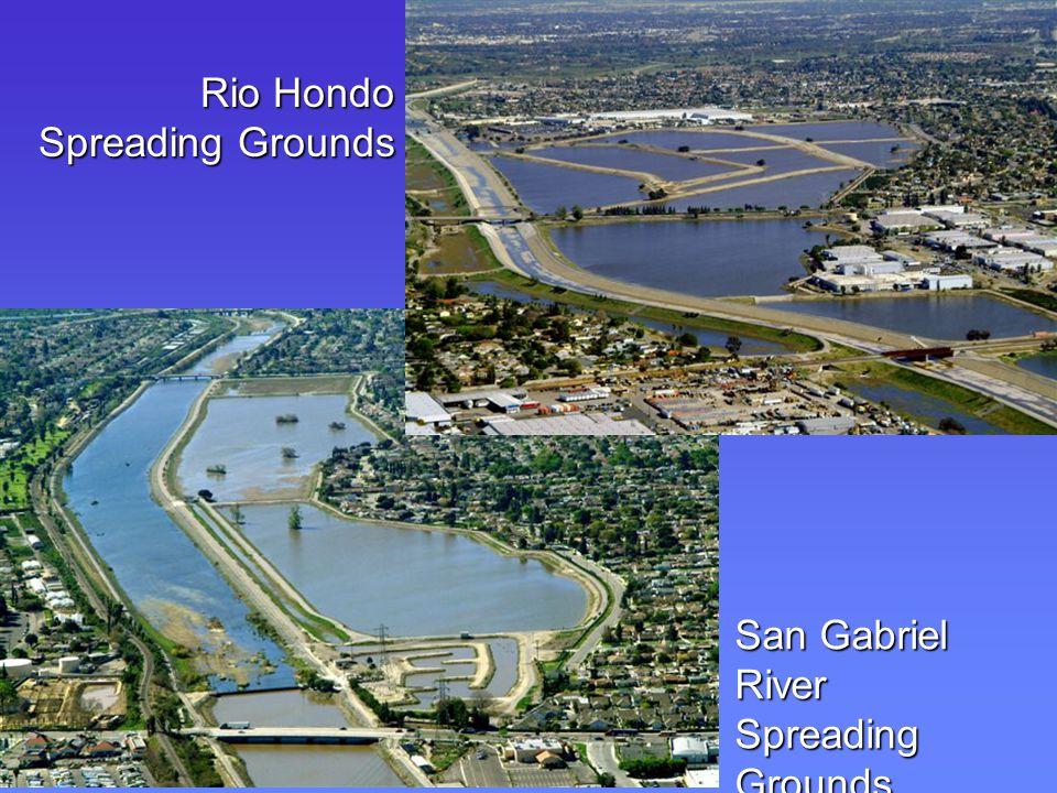 San Gabriel River Spreading Grounds Rio Hondo Spreading Grounds