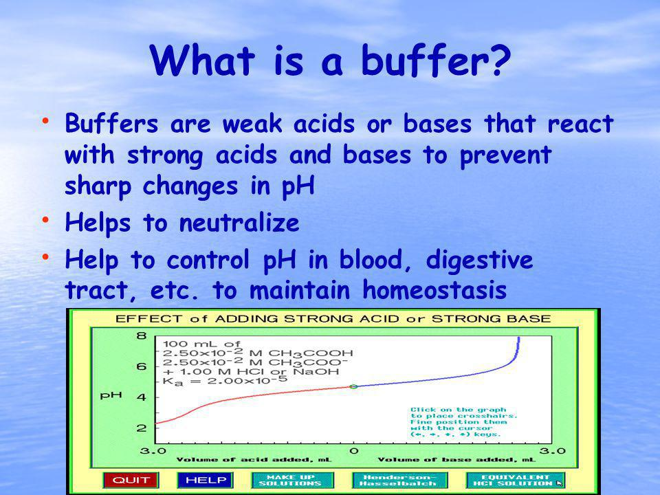 What is a buffer.