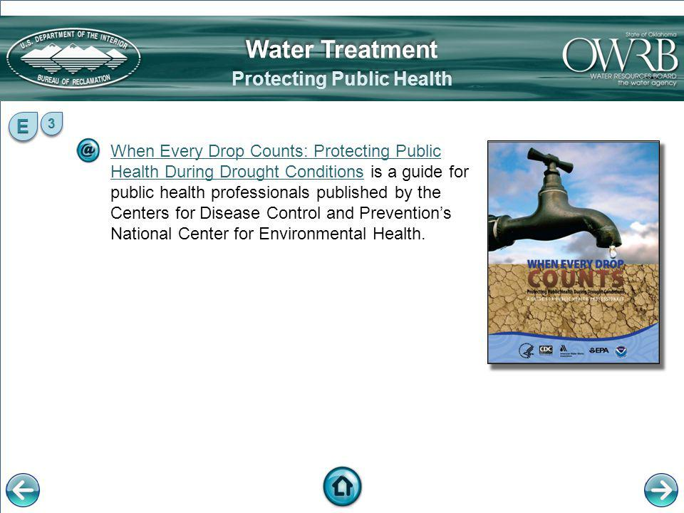 When Every Drop Counts: Protecting Public Health During Drought ConditionsWhen Every Drop Counts: Protecting Public Health During Drought Conditions i