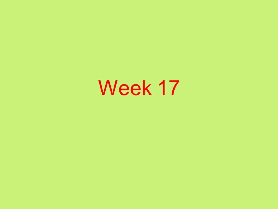 Week 17