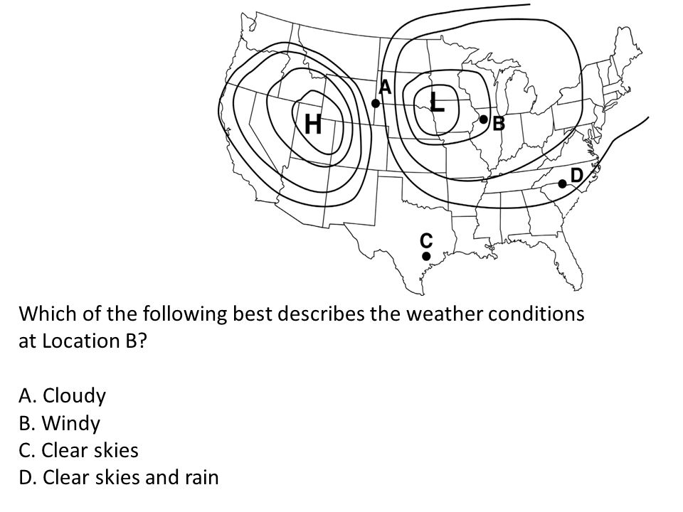 What are the main differences between high- pressure fronts and low-pressure fronts?
