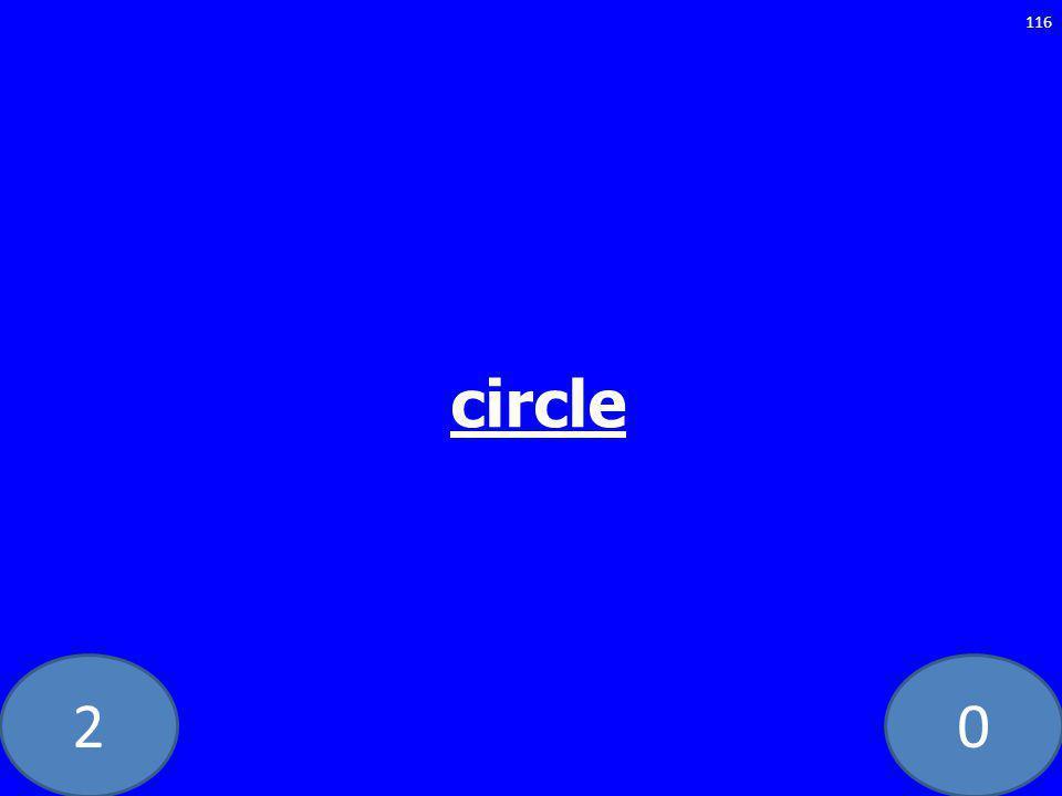 20 116 circle