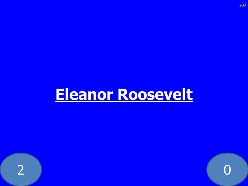 20 Eleanor Roosevelt 209