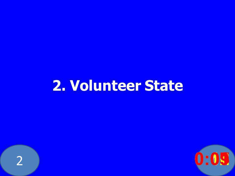 20 2. Volunteer State 0:020:030:040:050:060:070:080:100:110:120:090:01