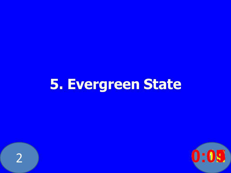 20 5. Evergreen State 0:020:030:040:050:060:070:080:100:110:120:090:01
