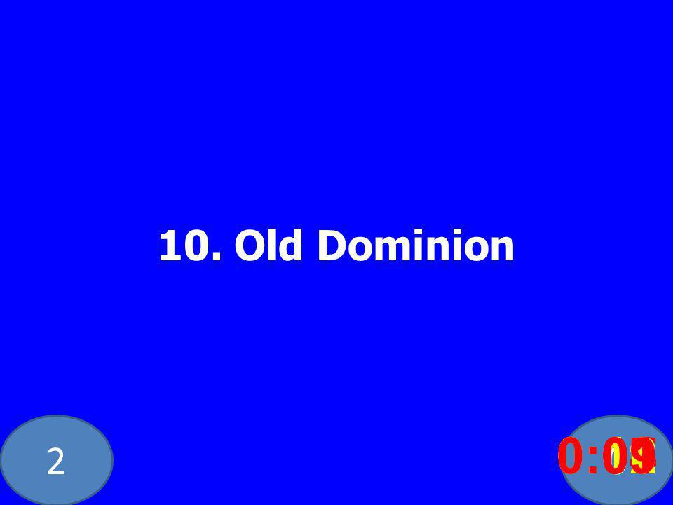 Old Dominion 0:020:030:040:050:060:070:080:100:110:120:090:01