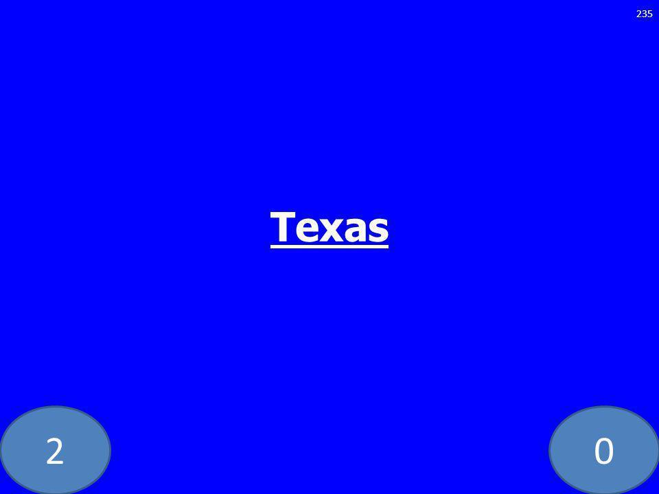 20 Texas 235
