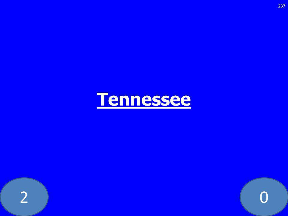 20 Tennessee 237