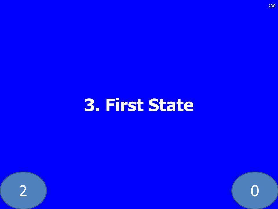 20 3. First State 238