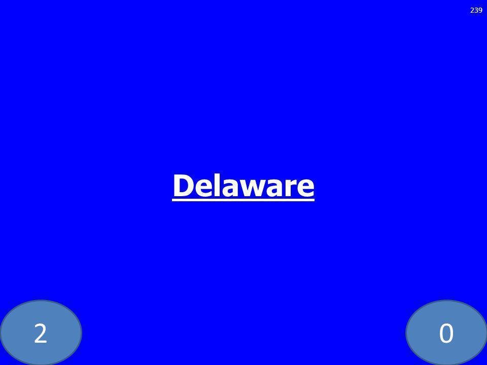 20 Delaware 239