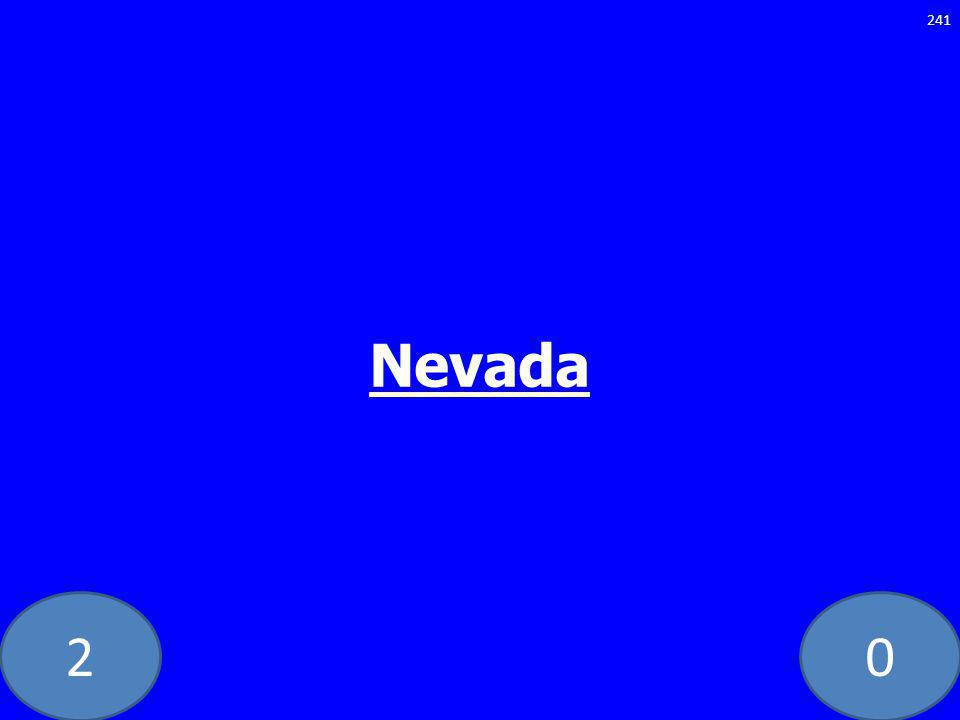 20 Nevada 241
