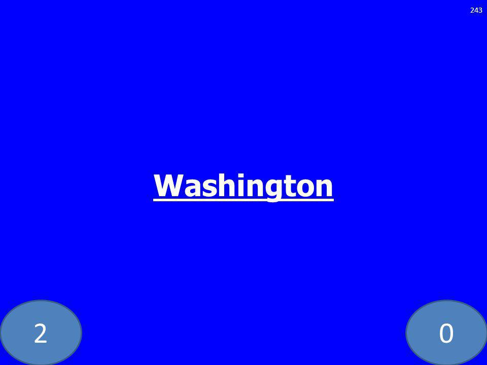 20 Washington 243