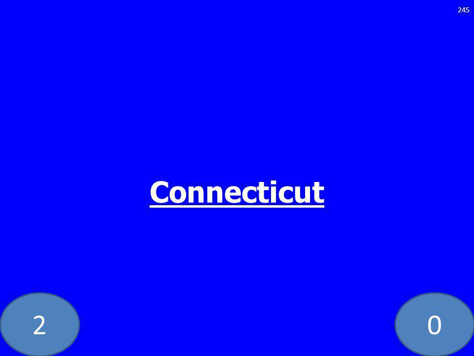 20 Connecticut 245