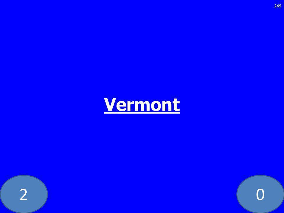 20 Vermont 249