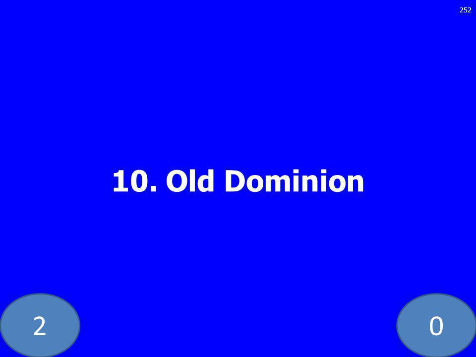 Old Dominion 252