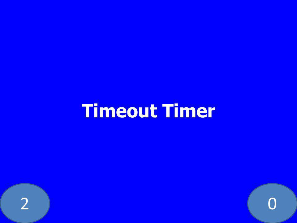 20 Timeout Timer