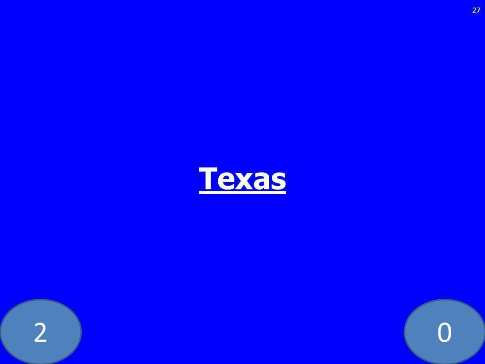 20 Texas 27