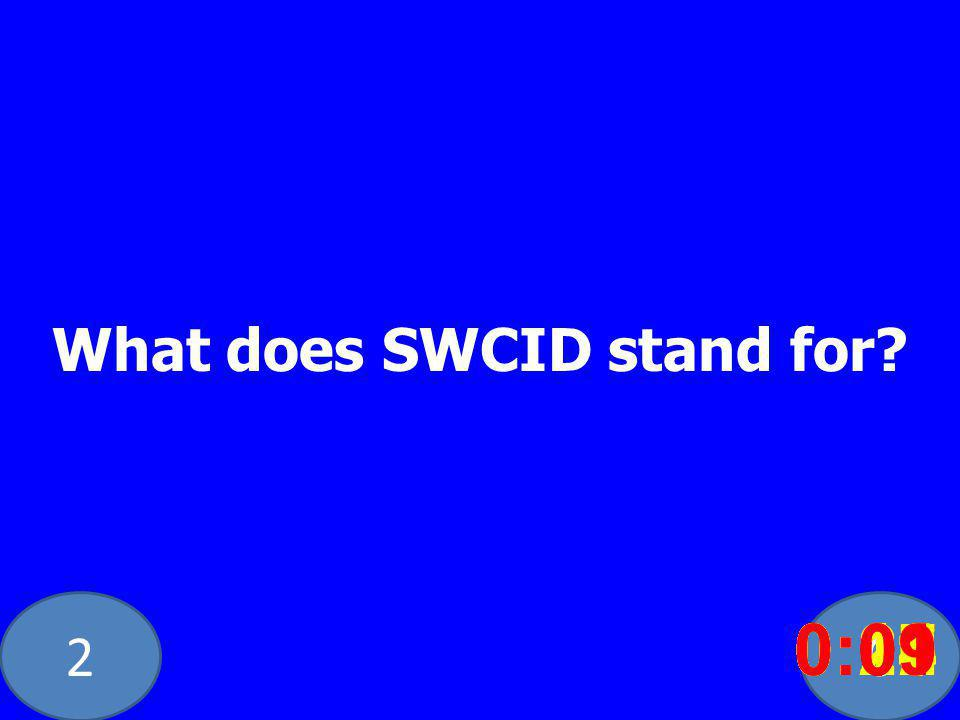 20 What does SWCID stand for.