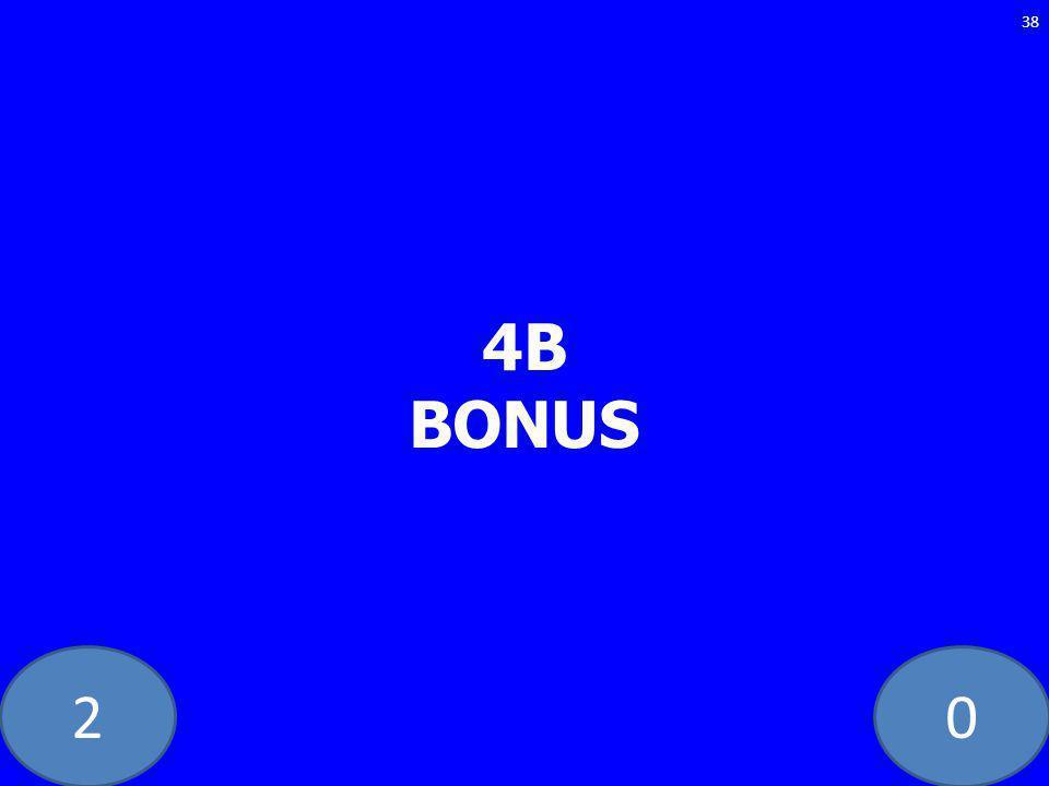 20 4B BONUS 38
