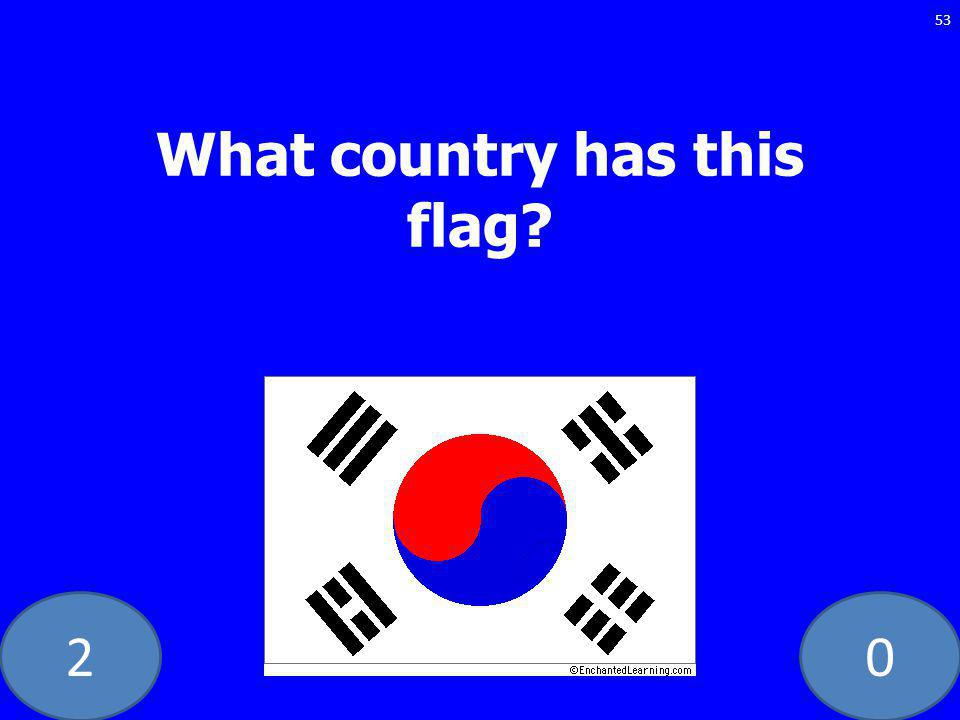 20 53 What country has this flag