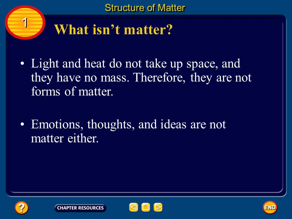 What is matter? Structure of Matter 1 1
