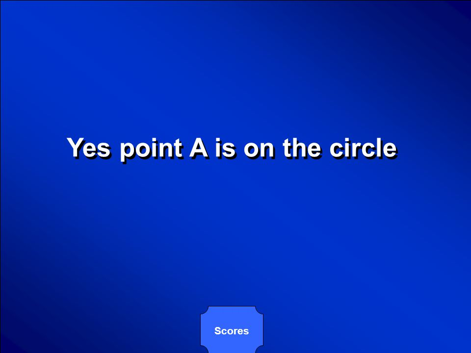 © Mark E. Damon - All Rights Reserved Is the point A(7,-3), who lies on the circle whose center is point C(4,1). The circle also contains point P(1,5)