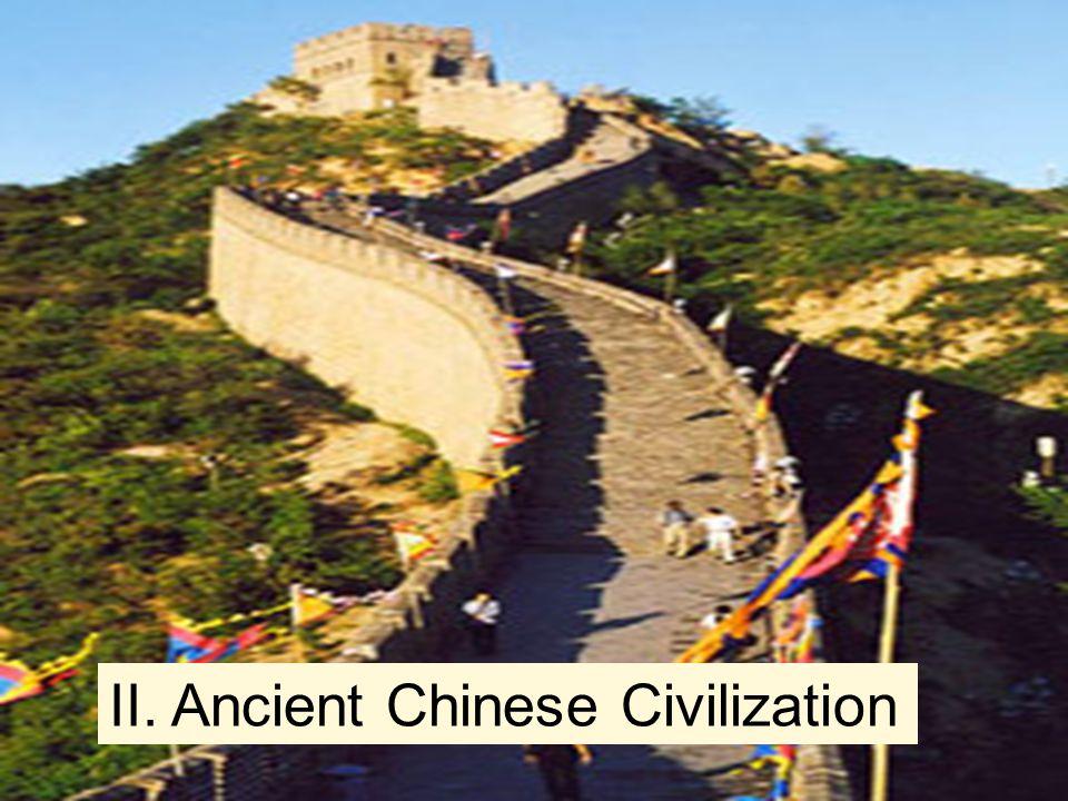 II. Ancient Chinese Civilization
