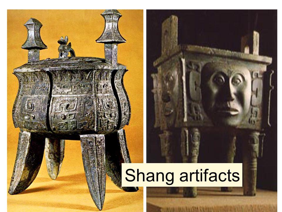 Shang artifacts