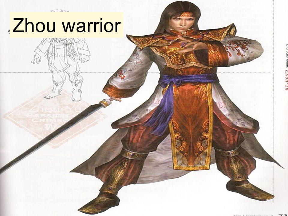 Zhou warrior