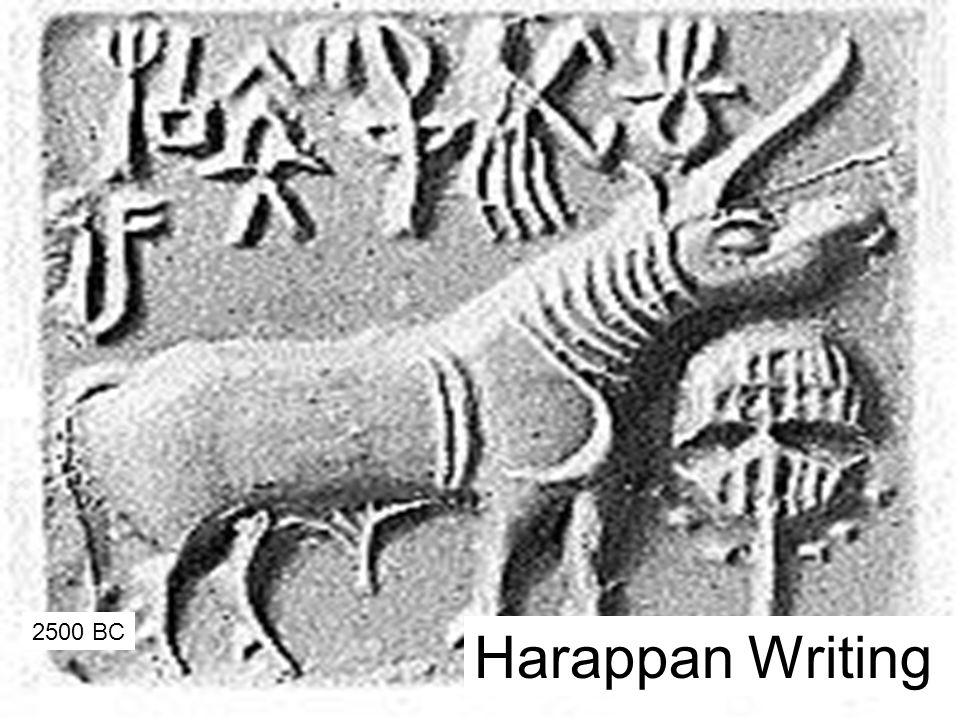 Harappan Writing 2500 BC