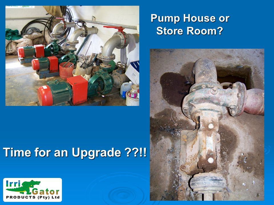 Pump House or Store Room? Time for an Upgrade ??!!