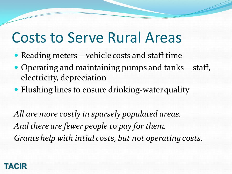 Federal Water Supply Act Reallocation Authorizes reallocation of storage from original purposes to water supply Typical reallocation is from power production Can be from flood control, but more hurdles Water utilities must pay for storage, the higher of Benefits or revenues foregone, Replacement cost, or Updated cost of storage.
