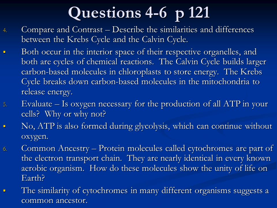 Questions 1-3, p 125 1.What is the relationship between glycolysis and fermentation.
