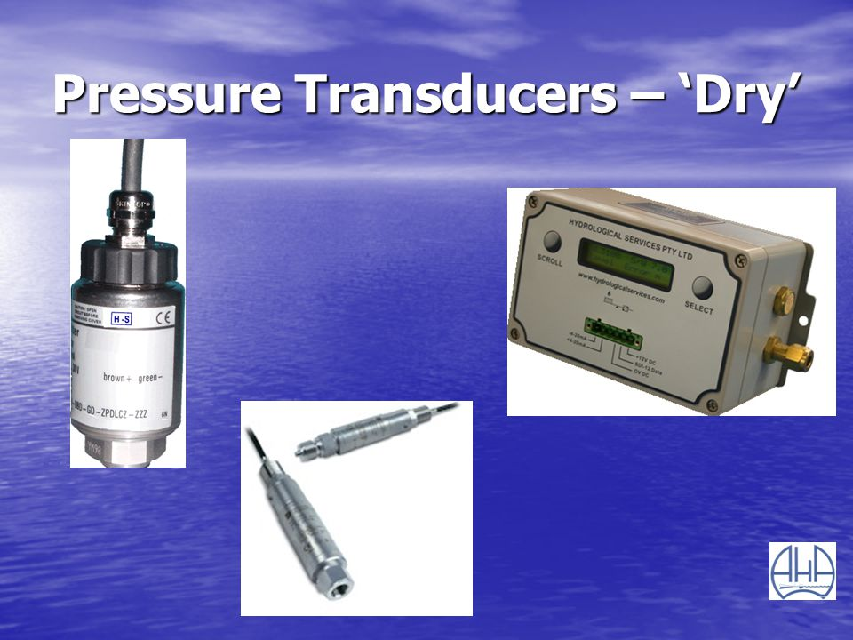 Pressure Transducers – Dry