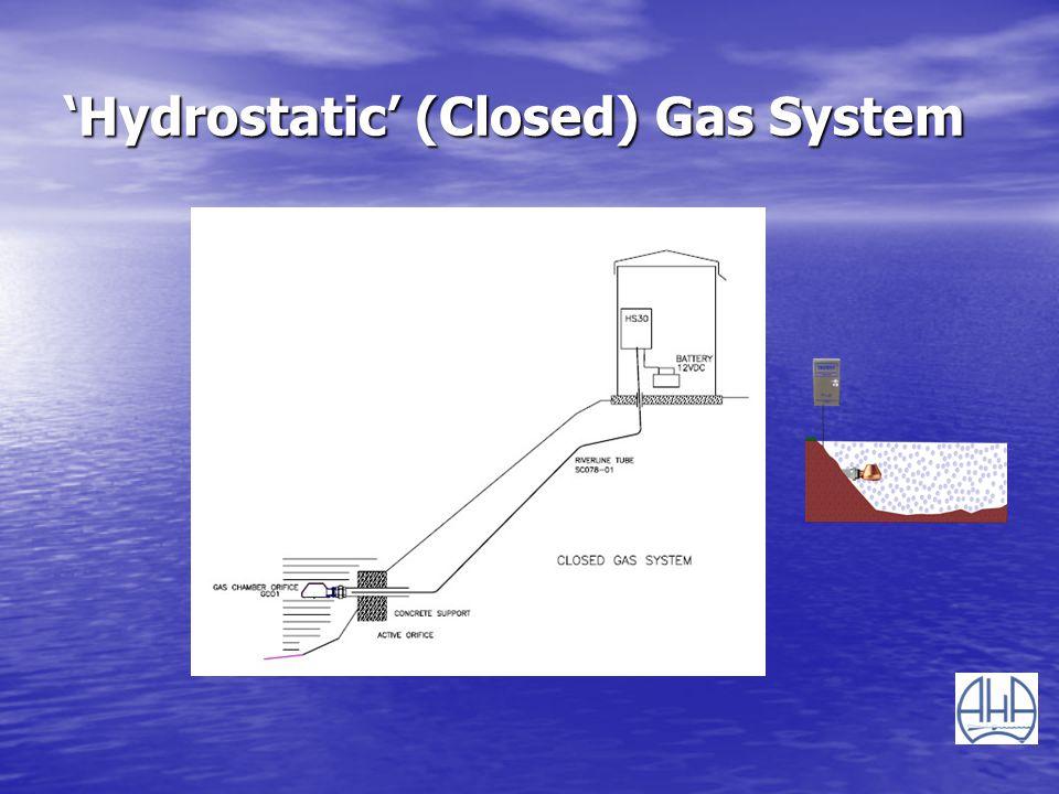 Hydrostatic (Closed) Gas System
