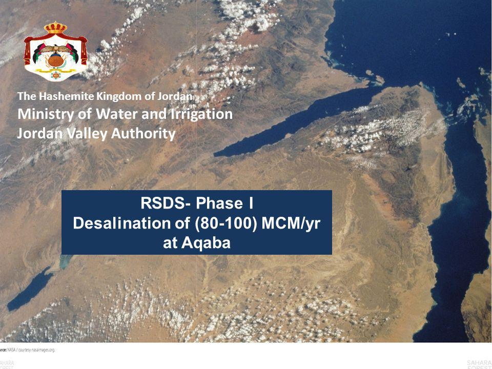 Why Jordan Needs The Red Dead Sea- Dead sea Project To provide additional freshwater to cover the deficits in all governorates To save the Dead Sea from Extinction