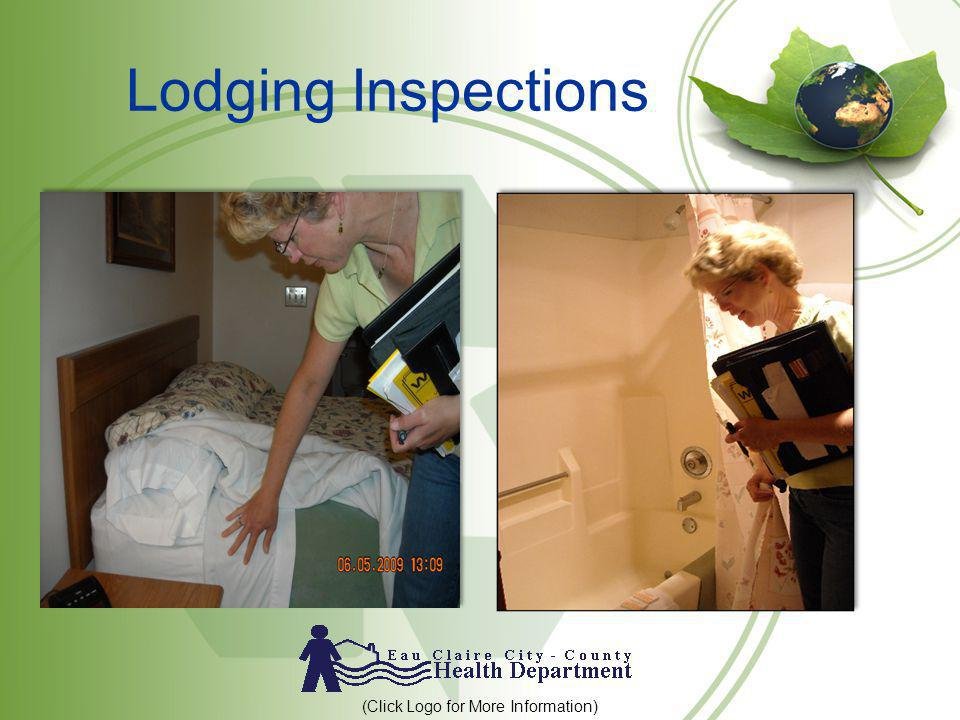 Lodging Inspections (Click Logo for More Information)