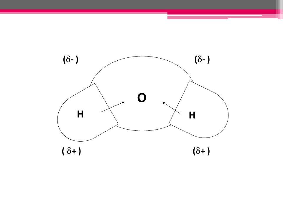 ( - ) O H H ( + )