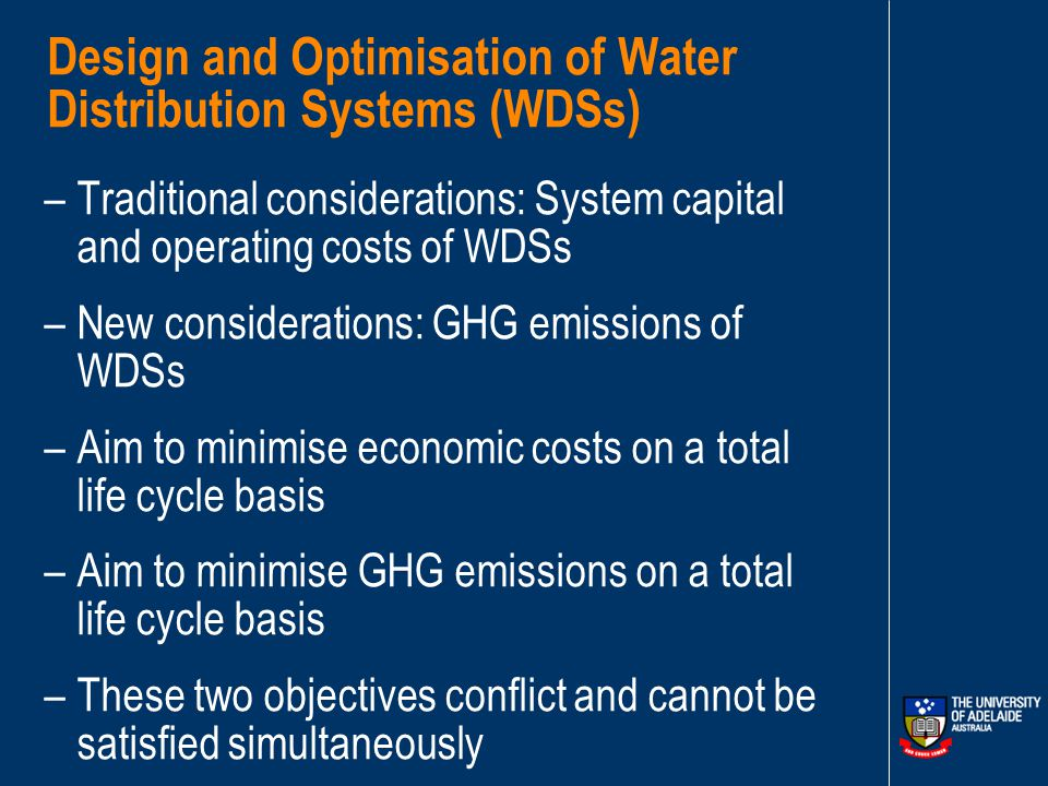 Accounting for Sustainability in the Design and Operation of Water Distribution Pumping Systems