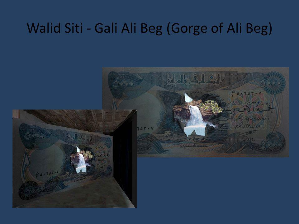 Walid Siti - Gali Ali Beg (Gorge of Ali Beg)