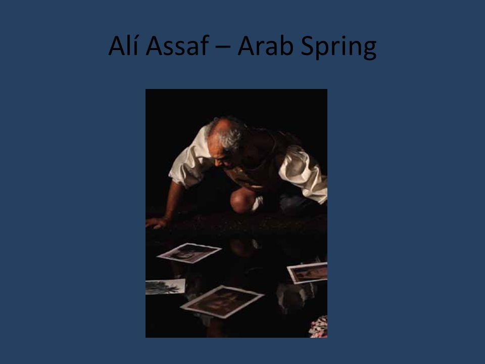 Alí Assaf – Arab Spring
