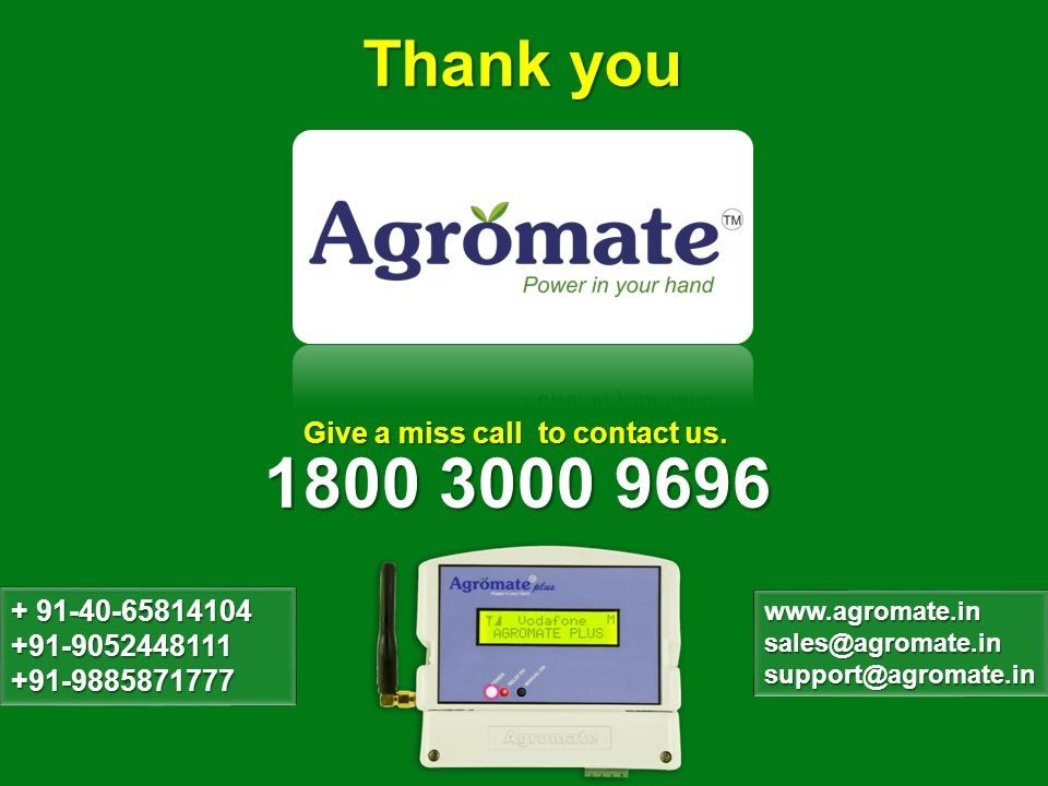 Thank you 1800 3000 9696 Give a miss call to contact us.