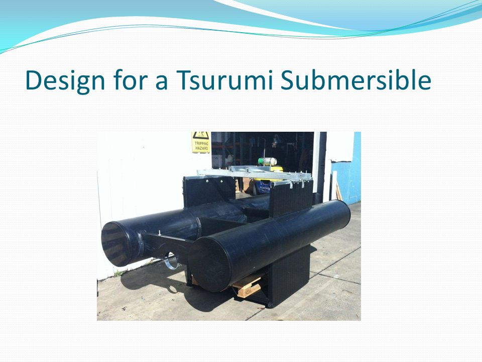 Design for a Tsurumi Submersible